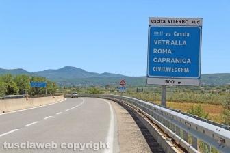 La trasversale Orte-Civitavecchia
