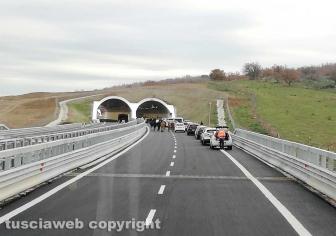 Viterbo - Trasversale - L'inaugurazione del tratto Cinelli - Monte Romano