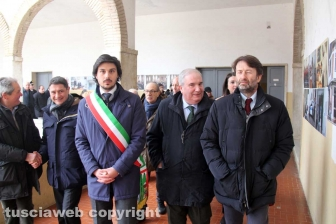 La visita del ministro Franceschini a Bassano Romano