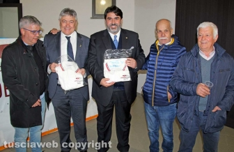 Umberto Fusco e Christian Solinas al centro