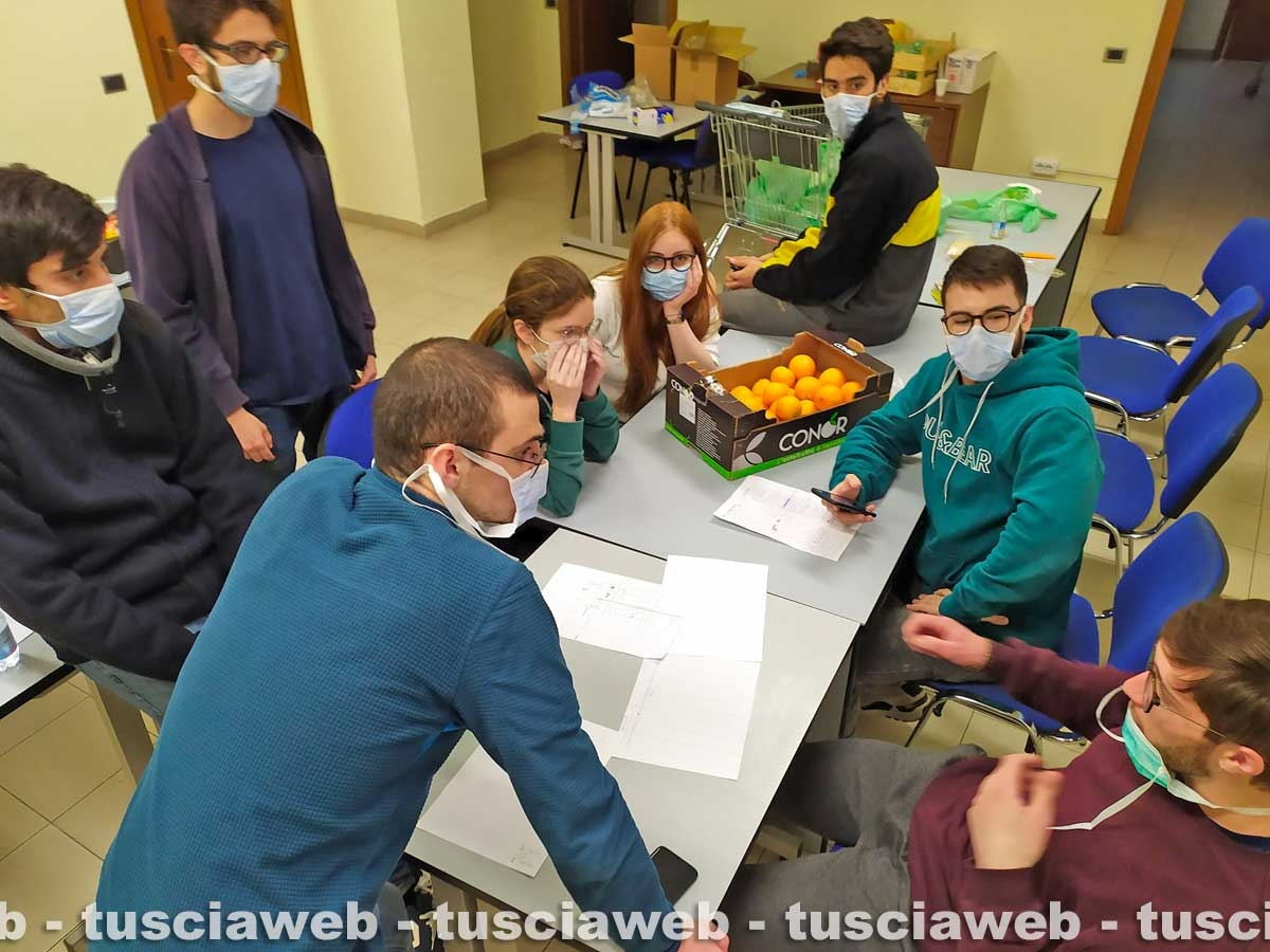 Viterbo - Coronavirus - La casa dello studente