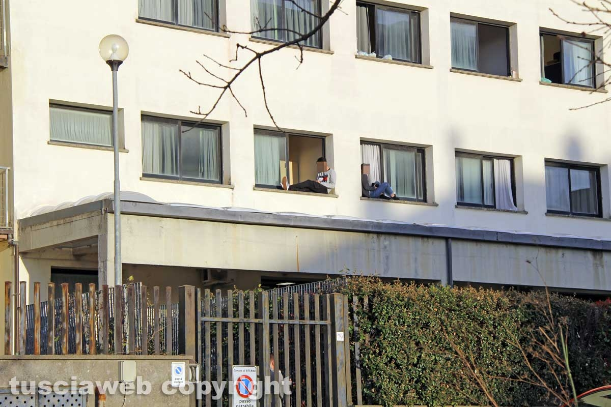 Viterbo - La casa dello studente di via Cardarelli