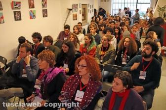 Viterbo - Il congresso della Rete degli studenti