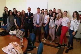 Viterbo - Quindici studenti russi studiano economia all'Unitus