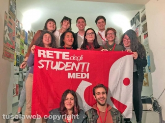 Viterbo - Le nuove segreterie della rete degli studenti medi