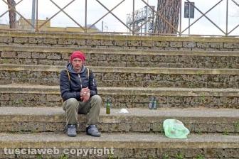 La vita dei senza tetto