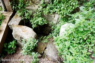 La zona esterna dei sotterranei