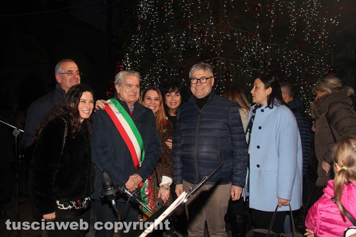 Accensione dell'albero di Natale a piazza del Comune