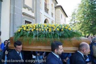 Caprarola - L'addio a Nikita Ricci