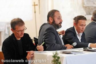 Antonello Ricci al tavolo dei relatori