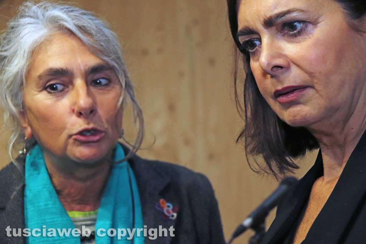 Laura Boldrini e Casapound a Vetralla