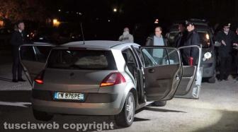 Orte - L'auto dell'omicidio - suicidio