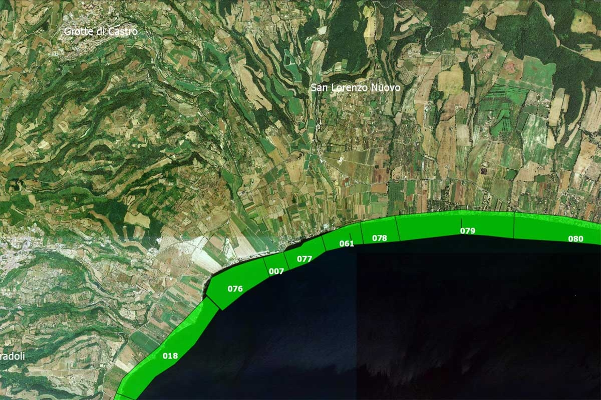 Arpa Lazio - Le acque idonee alla balneazione nel comune di Grotte di Castro
