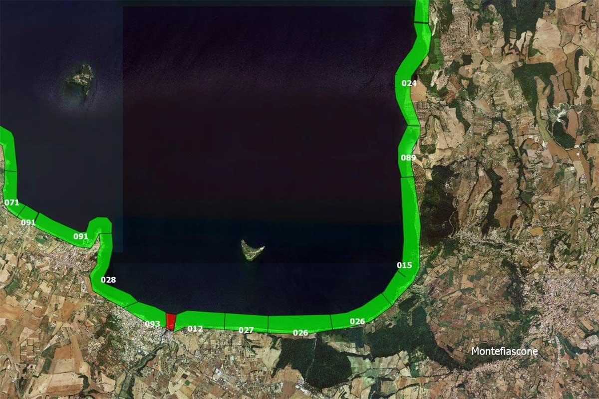 Arpa Lazio - Le acque idonee alla balneazione nel comune di Montefiascone