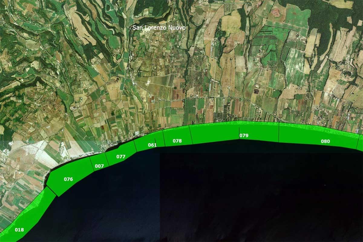 Arpa Lazio - Le acque idonee alla balneazione nel comune di San Lorenzo nuovo