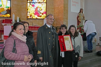Le celebrazioni di santa Barbara