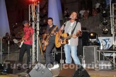 I cantanti sul palco
