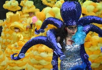 Carnevale di Ronciglione - Le mascherate di Pierina - Occhio alla piovra