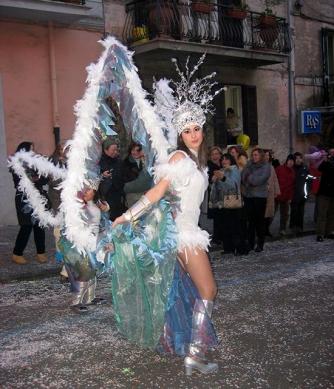 Carnevale di Ronciglione - Le mascherate di Pierina - Le ali della fantasia