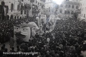 Il Carnevale di Ronciglione cinquant'anni fa