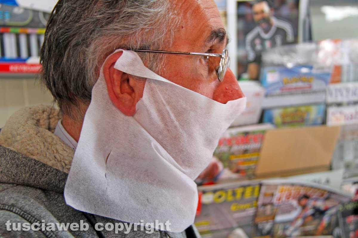 Le mascherine del comune
