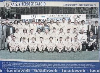 Le squadre della Viterbese dagli anni '30 a oggi