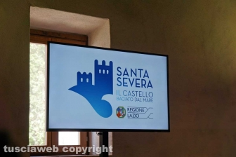 L'inaugurazione dell'ostello nel castello di Santa Severa