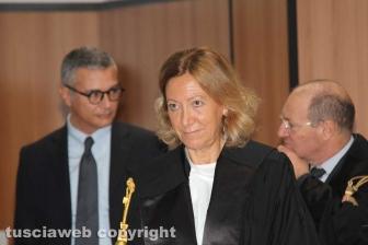 L'insediamento del presidente del tribunale Covelli