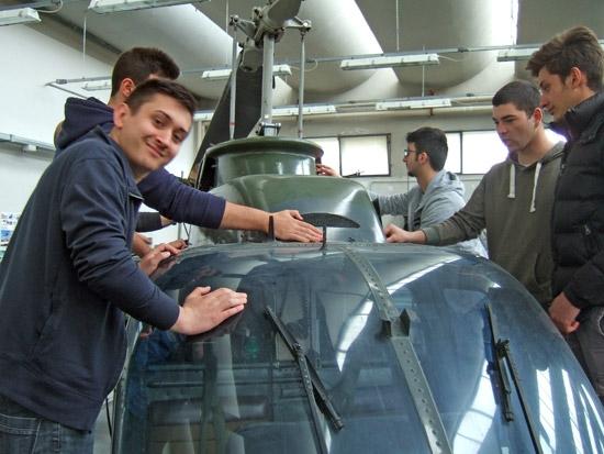 <p>Certificazione Enac all'istituto tecnico Da Vinci</p>