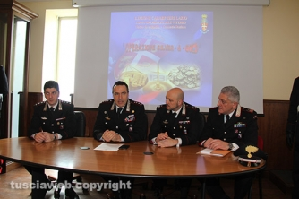 Operazione Silver and gold - La conferenza stampa per illustrare i dettagli del blitz