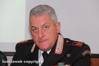 Operazione Silver and gold - Il luogotenente Maurizio Iannaccone, comandante della stazione carabinieri di Viterbo