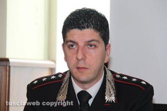 Operazione Silver and gold - Il capitano Giovanni Martufi, comandante dei carabinieri del nucleo investigativo di Viterbo