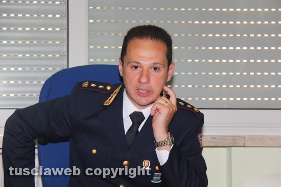 Il vicequestore aggiunto della polizia stradale Federico Zaccaria