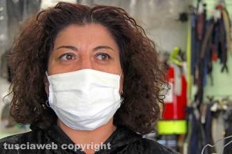 Lucica, la sarta delle mascherine