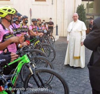 L'udienza dal Papa