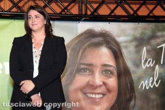Luisa Ciambella all'hotel Salus Terme