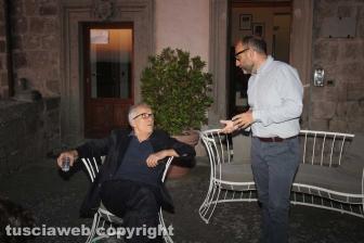 Marco Bellocchio e Pierfrancesco Favino a Viterbo