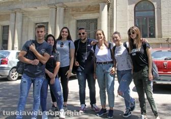 Viterbo - Maturità 2019 - Studenti del Paolo Savi