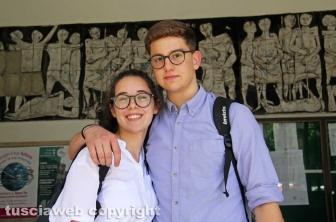 Viterbo - Maturità 2019 - Studenti del liceo Buratti