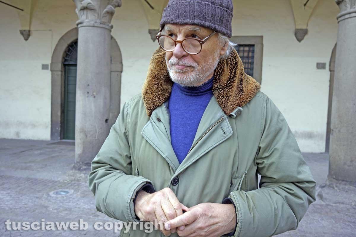 Viterbo - Michele Placido nella città dei papi