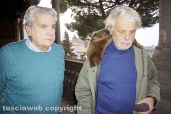 Viterbo - Giovanni Arena e Michele Placido