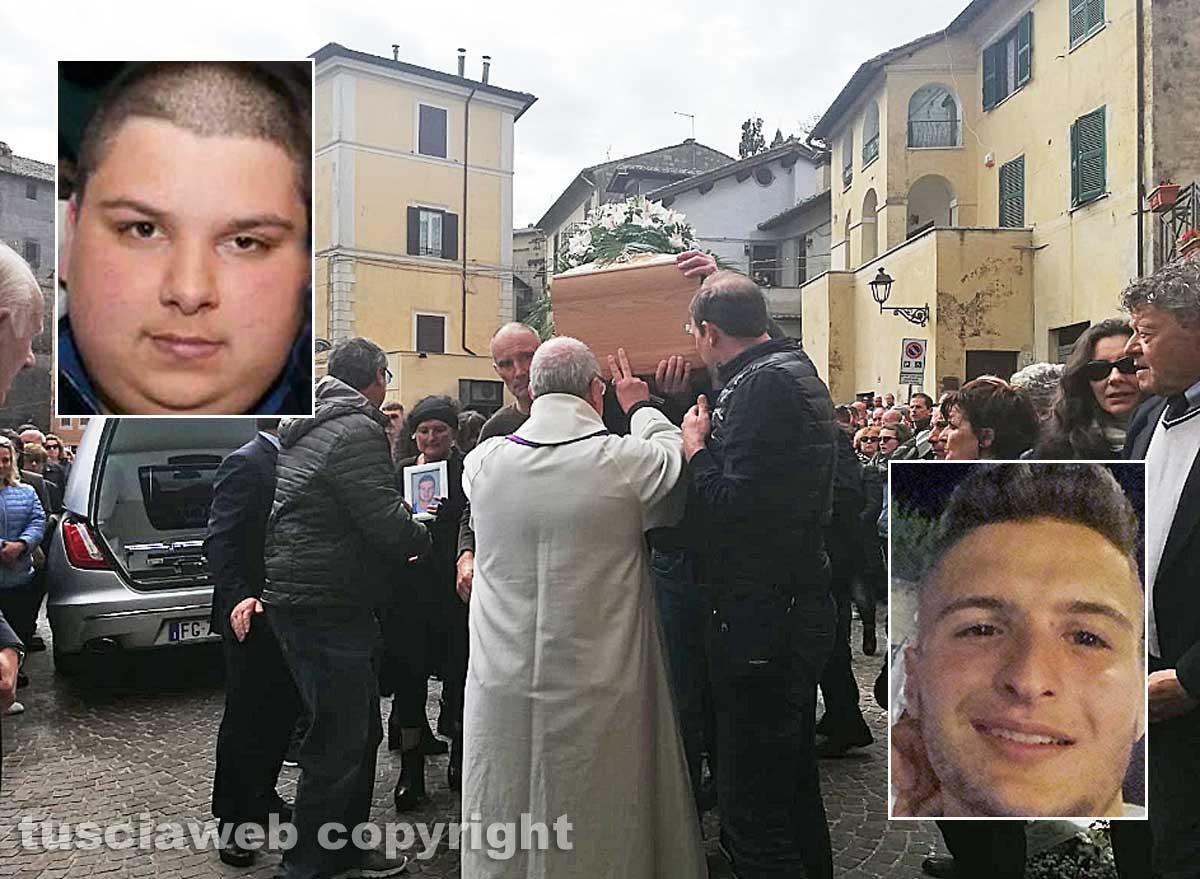 Fabrica di Roma - I funerali di Pierpaolo Bartoloni e Stefano Federici