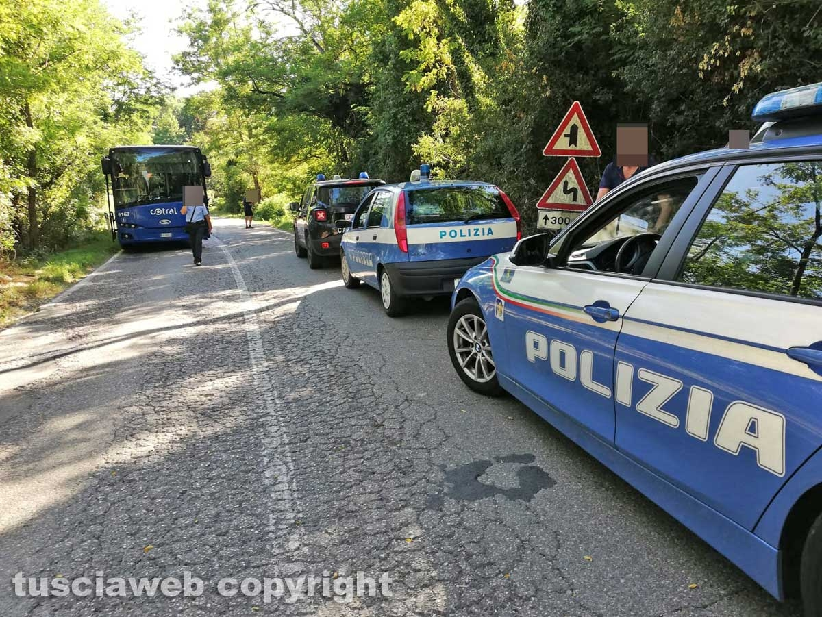 Soriano - Incidente sulla provinciale Molinella, muore centauro