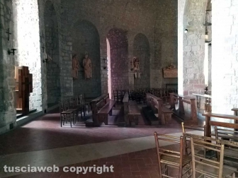 Moscerini nella cripta di santa Lucia