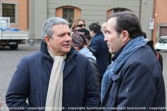 Marcello Meroi e il maestro Stefano Vignati