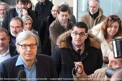 Vittorio Sgarbi e Giacomo Barelli