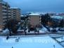 Neve a Viterbo il giorno dopo
