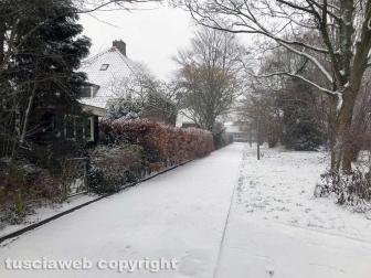 Maltempo - Neve anche ad Amsterdam