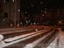 Notte di neve a Viterbo