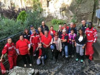 Gruppo-in-visita-alla-Cuna-di-Santa-Rosa-a-Soriano-nel-Cimino